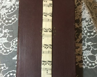 Music Note Bookmark