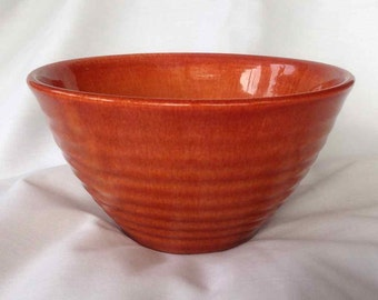 Vintage Ceramic Mixing Bowl - Made in USA - Mid-Century