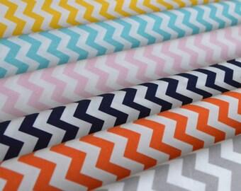 Chevron Fabric Bundle - 6 Fat Quarters