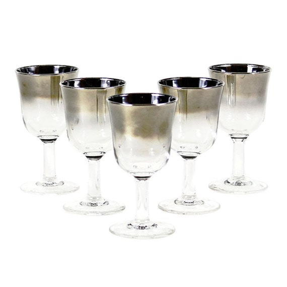 Crystal Liqueur Glasses No Stem