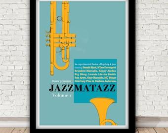 "Guru presents ""Jazzmatazz Volume 1"" - 1993 - Chrysalis"