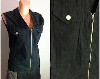Vest #Zipper Lock #Small-Medium Size