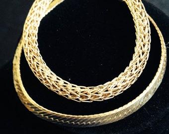Two Sterling Silver Bracelets Vior
