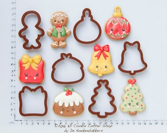 3D Cookie Cutters designed by De by 3DCookieCutterShop on Etsy