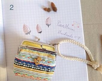 handmade coin purses for kids-cute-fun-créative-lucky-orange