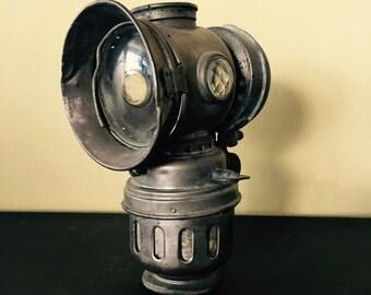 Vintage bicycle lamp