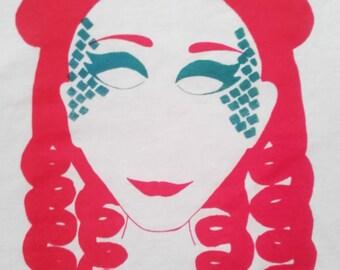 Ariel print t-shirt - XS