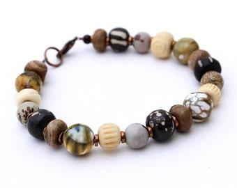 Tribal Bead Bracelet