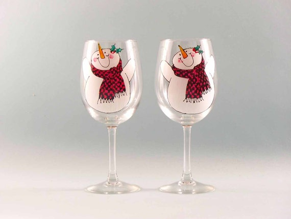 Stemmed or Stemless The Weather Outside is Frightful 20oz But the Wine is so Delightful Wine Glass Set of 2 Christmas Wine Glass