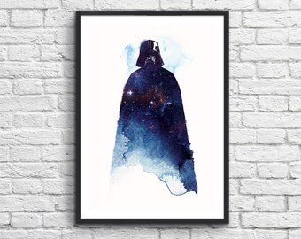 Art-Poster 50 x 70 cm - Star Wars - Vador Lord of the universe