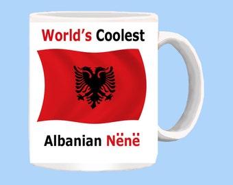 World's Coolest Albanian Nene (mother) mug