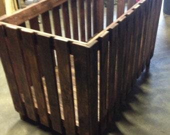 Custom Built One Of A Kind Rustic Crib