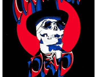 Grateful Dead Concert Poster 1990 New York City - FREE Shipping