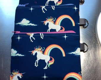 Unicorn Coin Purse  Unicorn Zipper Pouch