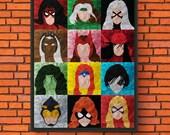 Minimalism Art - Marvel G...