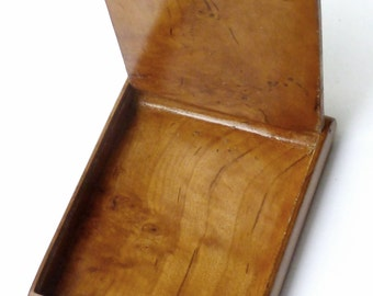 Vintage Maple Cigarette Case