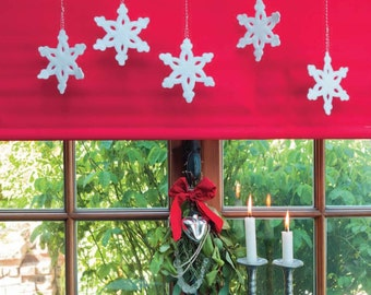 Let it Snow Garland Sewing Pattern Download (860059)