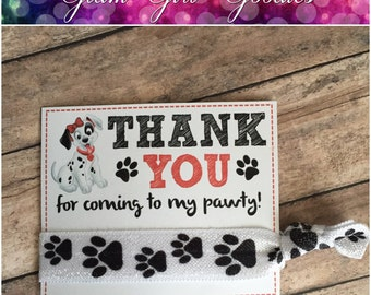 101 DALMATIANS PARTY,101 Dalmatians FAVORS,101 Dalmatians  invitation,101 Dalmations Birthday,101 Dalmatians thank you card