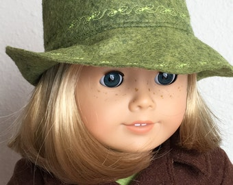"Fedora's for 18"" American Girl Doll"