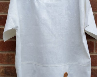 Pure irish linen top