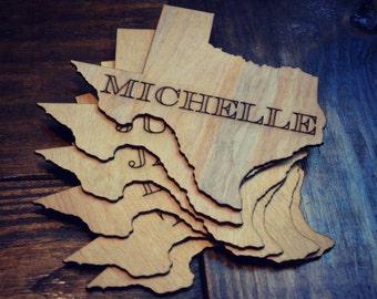 Texas Name Plate