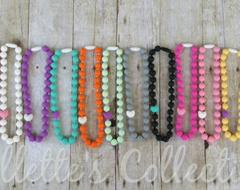 Infant's Teething Necklace