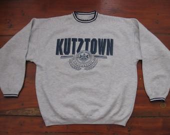 Vintage Kutztown University Sweatshirt Adult XL