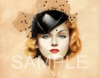 Digital Download File *Vintage Beauty* 8985