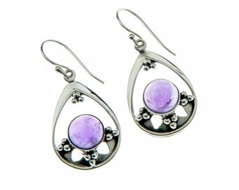 Sterling Silver with Amethyst Gemstones