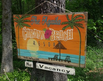 Pool Sign, Swimming Sign, Lake Sign, Painted signs, Pool house signs, Swimming Pool Signs, Beach Signs, Painted Beach Signs, Beach Sign