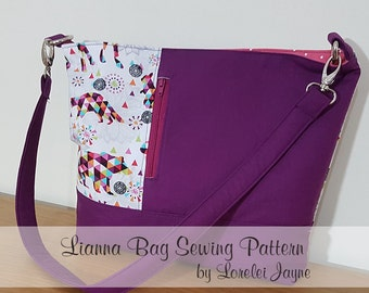 Lianna Bag PDF Sewing Pattern