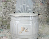 French Enamel Sel Box