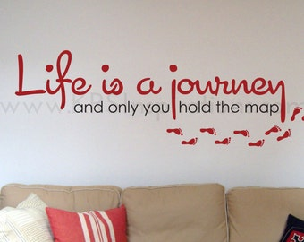 Life is a Journey Wall Decal
