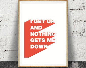 Jump - Van Halen Lyrics - Art Print