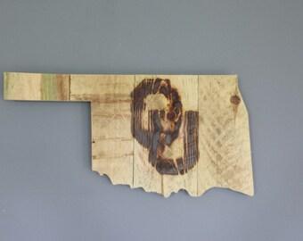 Oklahoma Sooner Sign/Plaque