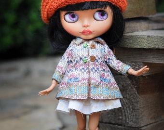 Blythe coat  - Blythe outfit from BlablaBlythe