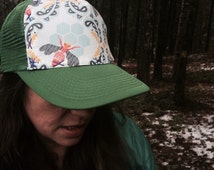 Adult & Youth Honey Comb  Trucker Hat