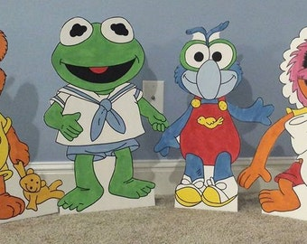 1 ONE 2ft Baby Muppet cutout/standee/prop. (choose any character not only the ones listed)