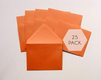Bulk A2 Envelopes - 25 Pack - Choose Color