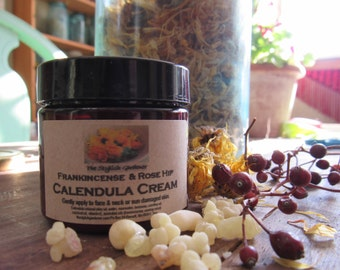 Calendula Cream with Frankincense & Rose Hip