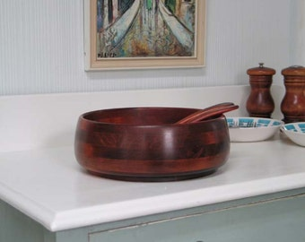 Baribocraft Salad Bowl with Serving Utensils