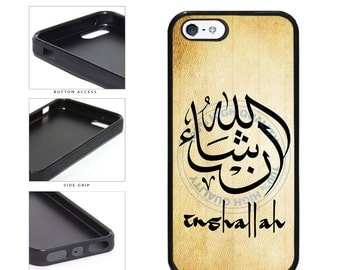 Inshallah Phone Case - iPhone 4 4s 5 5s 5c 6 6s 6 Plus 6s Plus iPod Touch