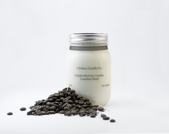 12oz Coffee Scented Soy Candle