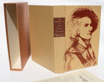 The Confessions of Jean-Jacques Rousseau - The Heritage Press 1955