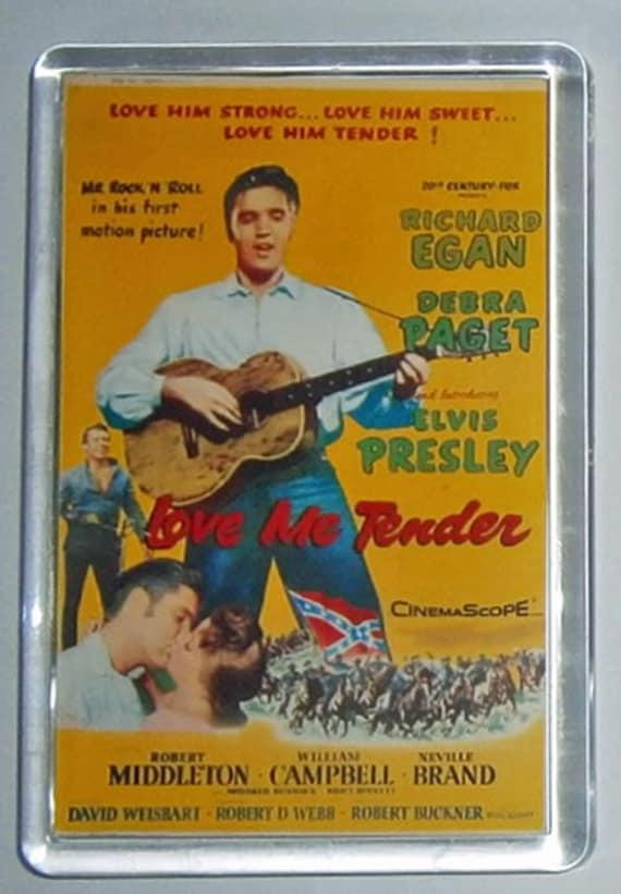 Elvis Presley movie posters G I Blues Blue Hawaii Girls Girls Girls King Creole Love Me Tender fridge magnet New