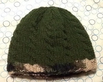 Adult Female Cabled Beanie