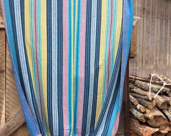 Vintage Guatemalan hammock 53 by 108 inches