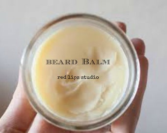 MADAGASCAR BOURBON VANILLA Beard balm -Smoothe & Control Hair, Mustaches, Beards 2 oz Tin