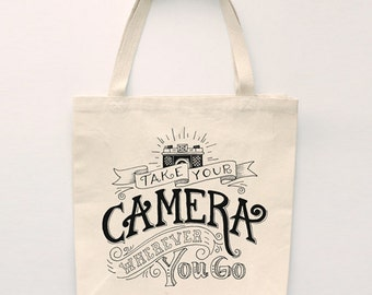 Take Your Camera Tote Bag