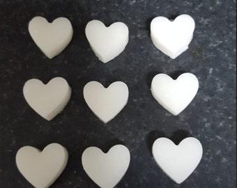 4 X Handmade Watermelon Sugar Scrub Hearts